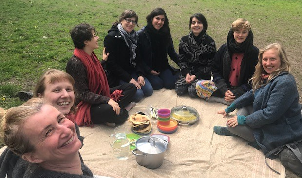 Group Ayurvedic picnic ER